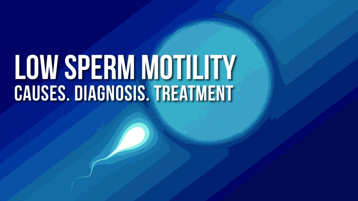 sperm motility Count low